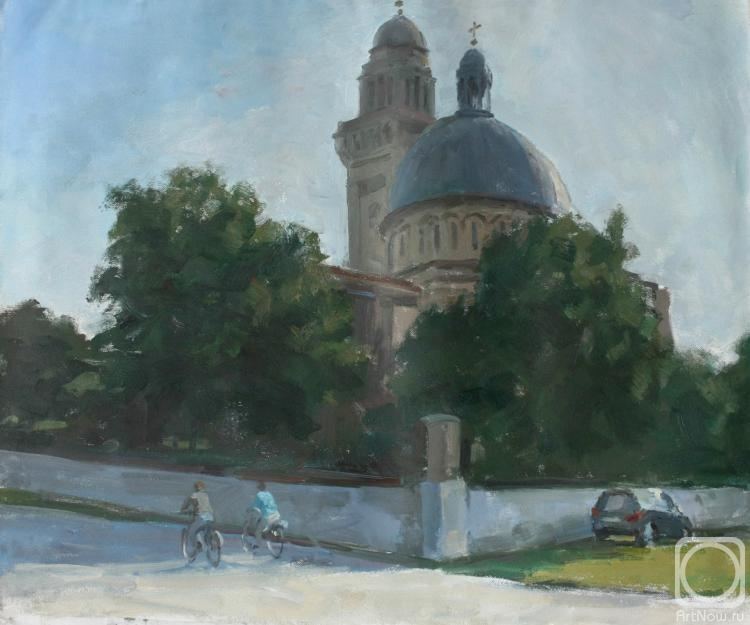 Rubinsky Pavel. Serbia, the city of Pancevo. The old church.