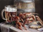 Картины на тему «Натюрморт с раками»