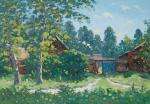Alexandrovsky Alexander. Noon, summer in the village