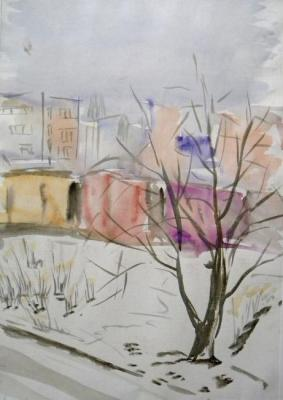 Winter sketch. Charova Natali