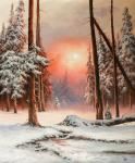 Lyamin Nikolay. In Winter forest