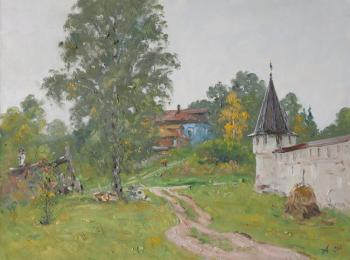 Alexandrovsky Alexander. Behind the fence of the monastery