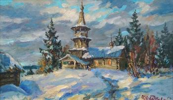 Fedorenkov Yury. Chapel in the village of Korba. XVIII century