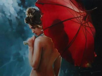 Chernigin Alexey. Red umbrella