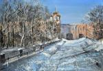 Zhukoff Fedor. Winter in the village of Tsarskoe