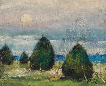 Kremer Mark. Evening, stacks