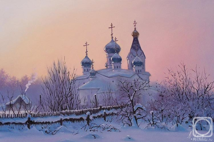Volya Alexander. Winter Sunrise
