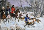 Biryukova Lyudmila. winter hunting