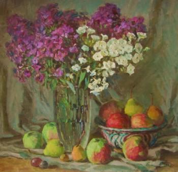 Phlox and fruits