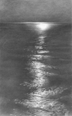 Moon Light in the Sea. Chernov Denis