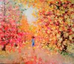 """Autumn"" 52х45.oil on canvas"
