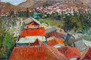 Red roofs of Veles. Zhukova Juliya