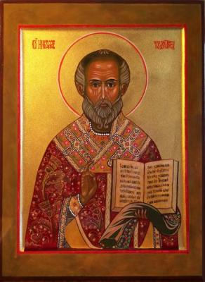 The Icon Of St. Nicholas