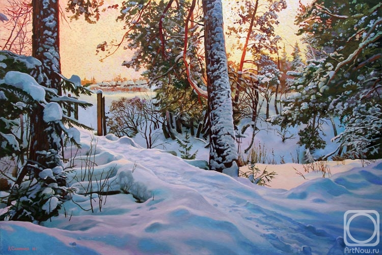 Samokhvalov Alexander. The frost invigorating