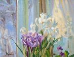 Харченко Виктория. Crocuses on the window