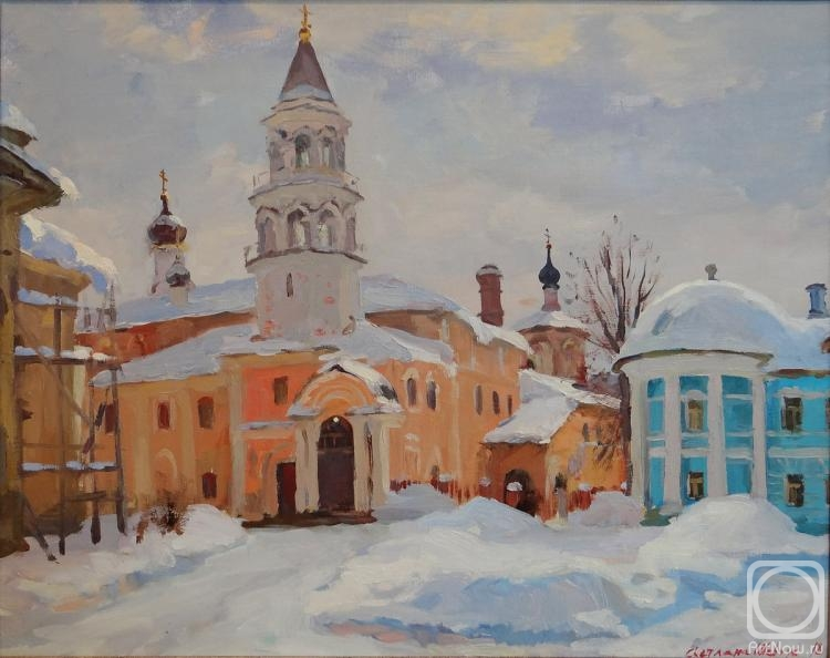 Shevchuk Svetlana. Bell tower of Boris and Gleb monastery