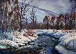 Stepanov Pavel. April ordered the snow to melt