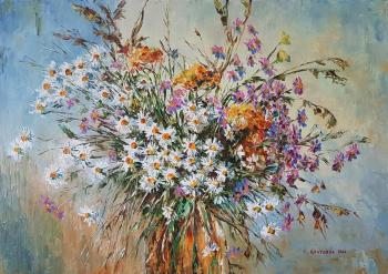 Camomiles and asters. Kruglova Svetlana