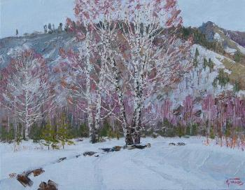 Panov Igor. Big birches
