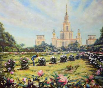 Yaskin Vladimir. Fragrance of peonies