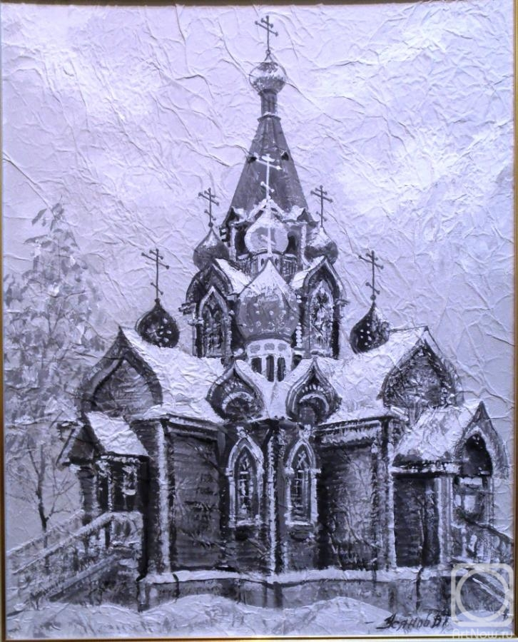 Usianov Vladimir. Church of the Nativity of the blessed virgin Mary in Peter Dubrava. Samara