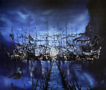 Aronov Aleksey. In our Harbor came the ships