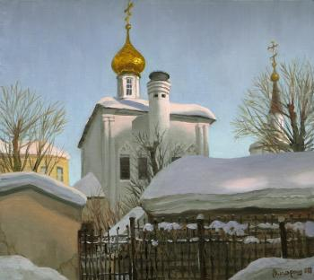 Paroshin Vladimir. The Dormition Church in Pechatniki