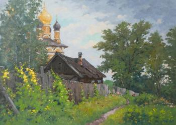 Alexandrovsky Alexander. At the Church of Saint Nicholas wet