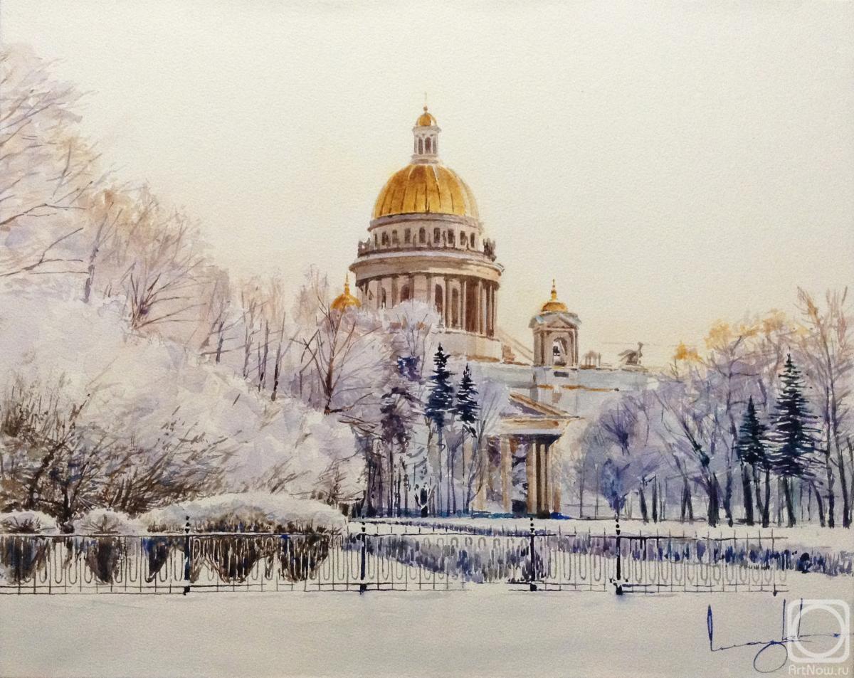 Картинки исаакиевский собор зимой