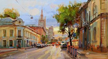 Heat receded from the city. Povarskaya street. Shalaev Alexey