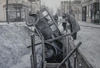 Retro auto accident 2. Sharaev Maksim