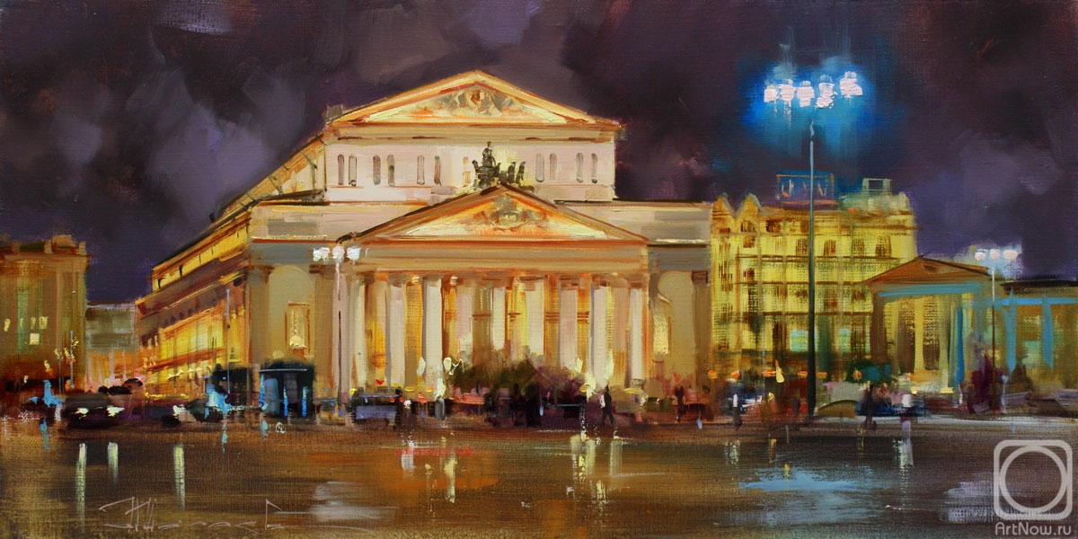 Shalaev Alexey. Long evening. Theatre square