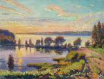 Kovalevscky Andrey. Sunset on the Volga