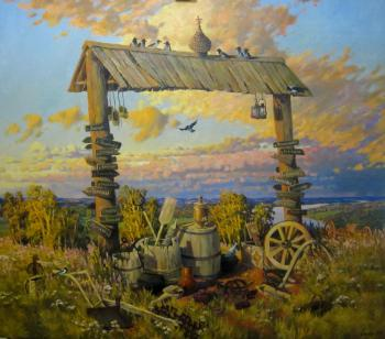 Svinin Andrey. Dedicated to the departed villages
