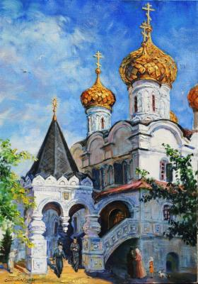 "Simonova Olga. The etude from nature ""Ipatiev Monastery. Kostroma"""