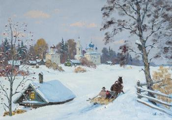 Alexandrovsky Alexander. The Old Ladoga, Russian winter