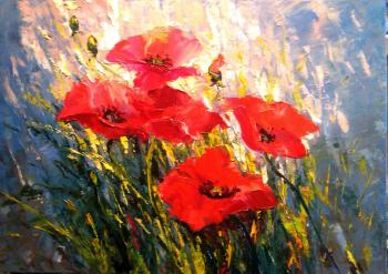 Strunina Galina. Poppies