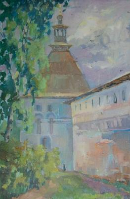 Kleymenova Elena. Behind the walls of the temple