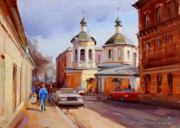 Shalaev Alexey. An old temple. Church of Sergius of Radonezh