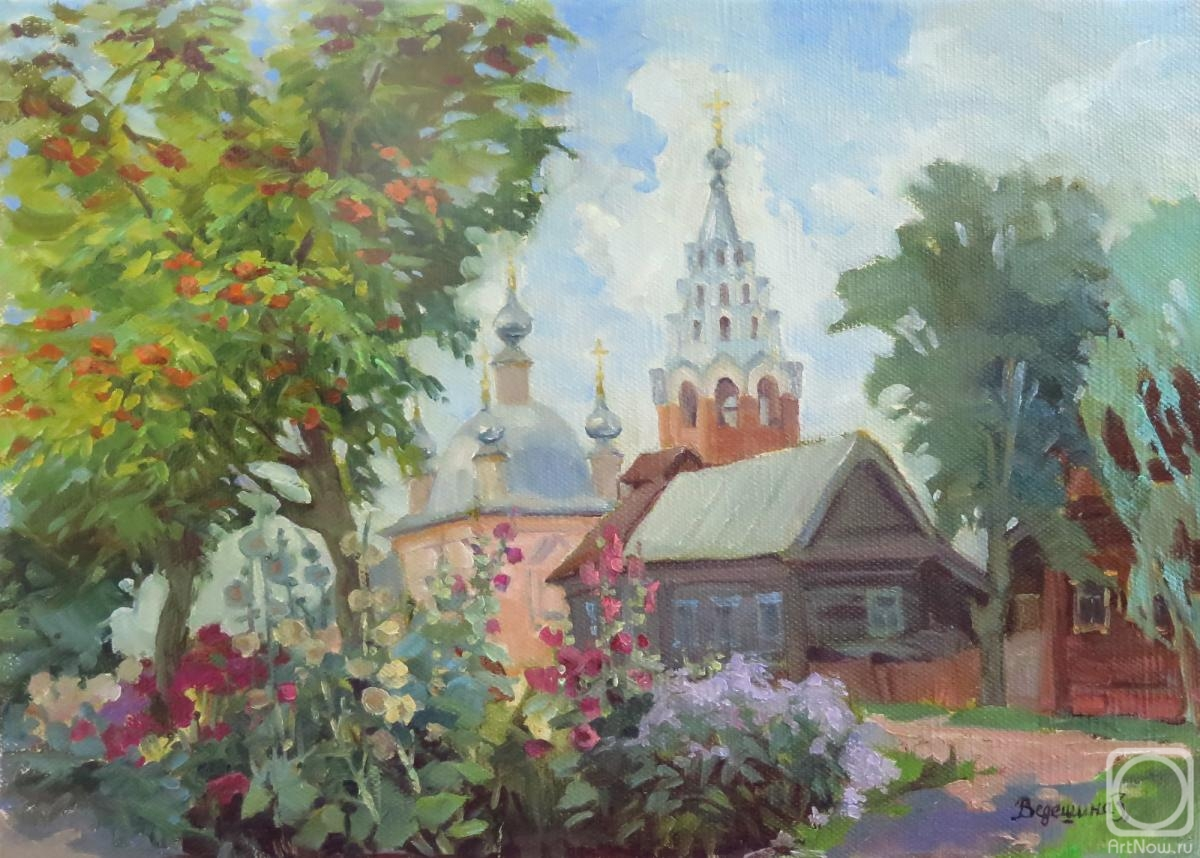 Vedeshina Zinaida. August in Galich