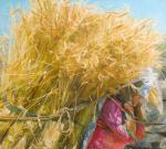 Kharchenko Victoria. Golden harvest