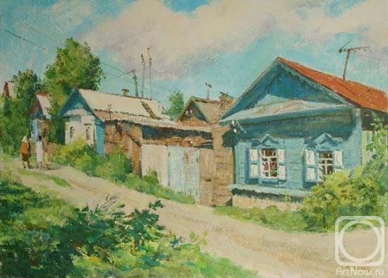 Деревенские улицы рисунок