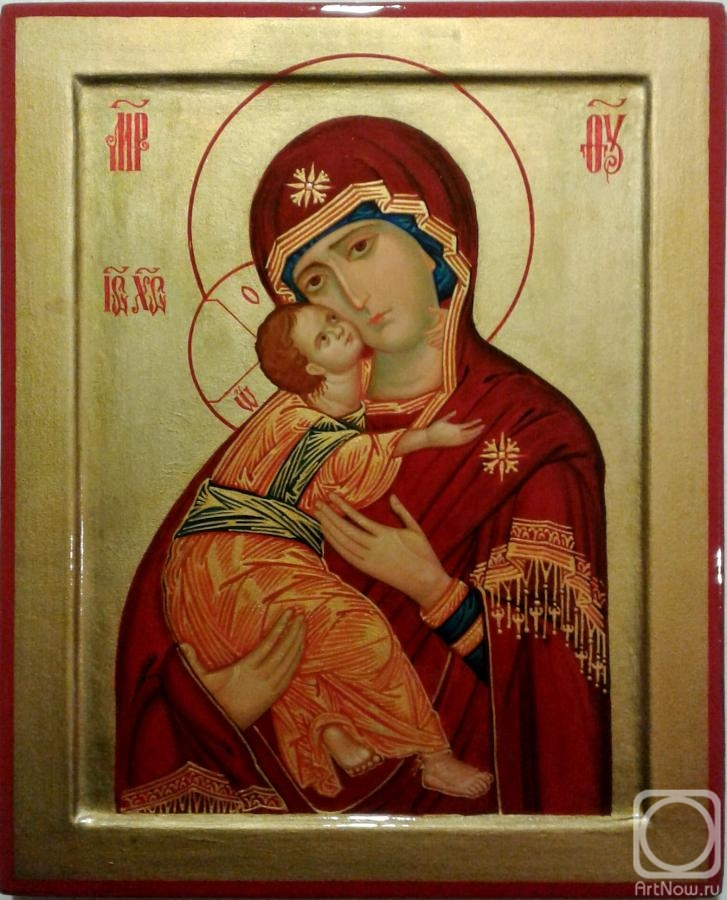 Stepanov Gennadiy. Icon of the Mother of God of Vladimir
