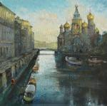 Morning on the Griboedov Canal. Kremer Mark