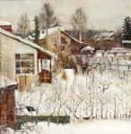 Grigorieva Natalia. Holiday village in winter