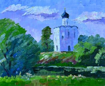 The Church of the Intercession on the Nerl. Panteleeva Elena