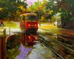 Картины на тему «Трамваи»