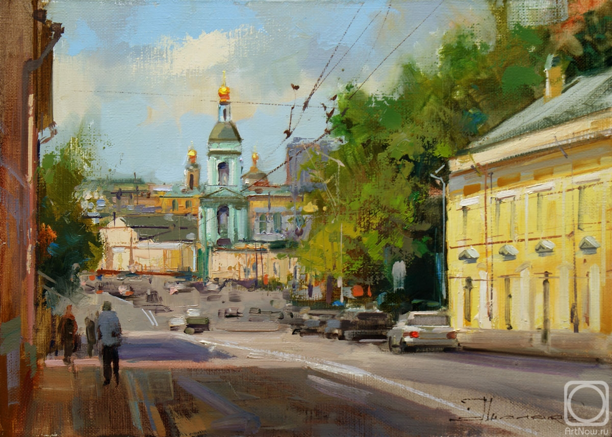 Shalaev Alexey. On the slope to Yauza. Yauzskaya Street