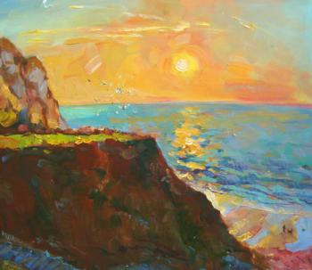 Sunset in Normandy. Mishagin Andrey