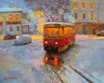 Volkov Sergey. Moscow Christmas (Anna on the Net)